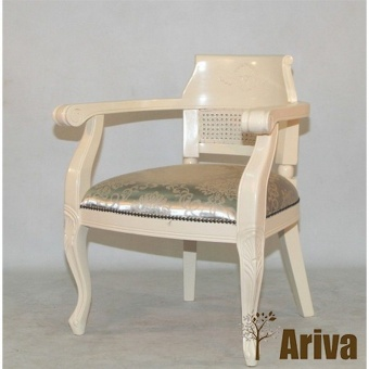 Стул MK-CH021ST Virginia chair Ivory (Слоновая кость)