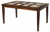 Стол LT T13271 HONEY OAK #K115/ плитка 2 тона Cosmo, Antige Leather(Мёд)